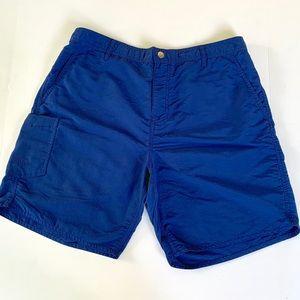 AFTCO Original Fishing Shorts. Navy blue. 34